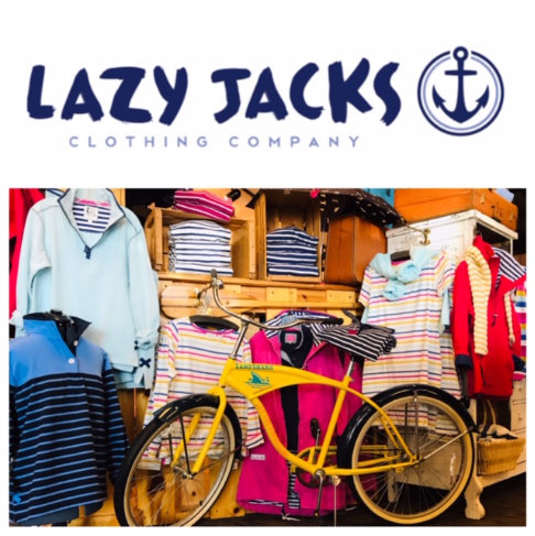 Lazy Jacks Display with Bike