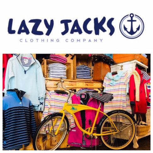 Lazy Jacks Display with Bike