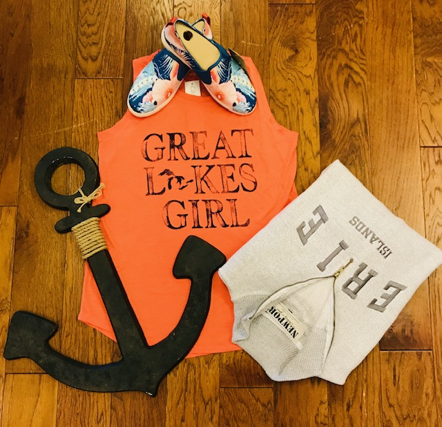 Great Lakes Girl Outfit display